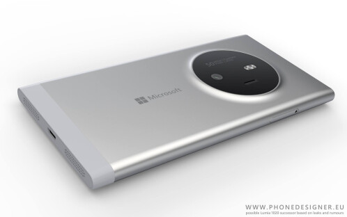 Concept, non-official renders of a Lumia 1020 successor