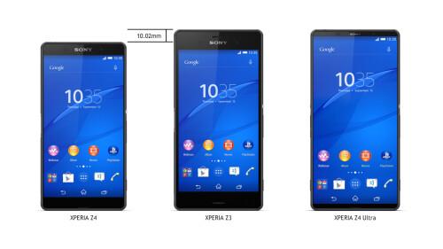 Sony Xperia Z4 Ultra render