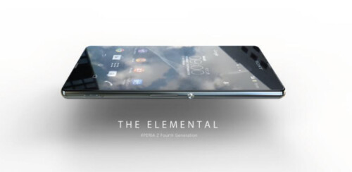 Sony Xperia Z4 - or just early designs of it