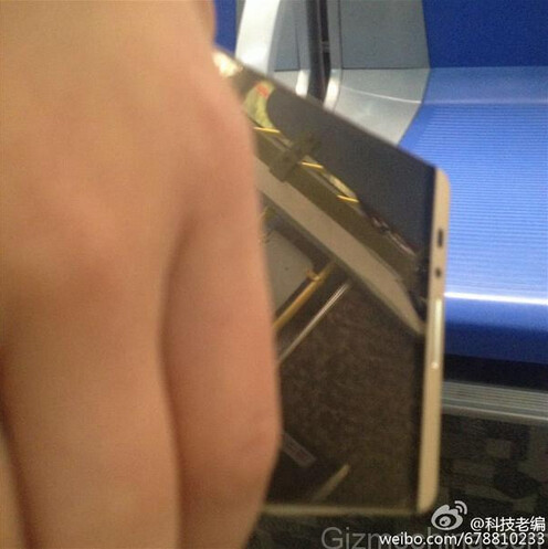 Leaked picture shows the front of the Huawei Ascend Mate 7 sequel