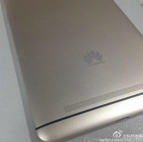 The rear of what could be the sequel to the Huawei Ascend Mate7