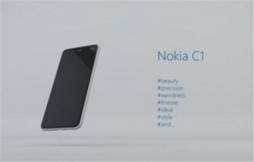 The Nokia C1 is inspired by the Nokia N1