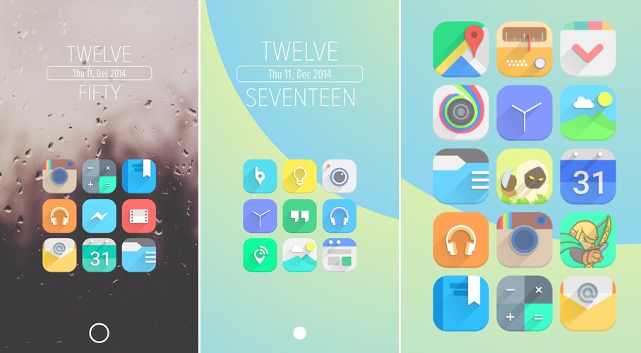 best new icon packs for android december 2014