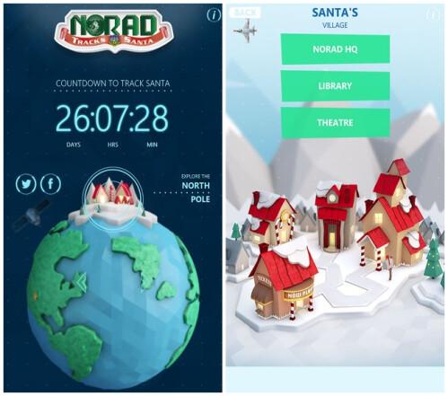 Official NORAD Santa Tracker app (Android & iOS) is for stalking Santa