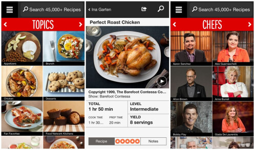 Food Network In the Kitchen (Android & iOS) for more Christmas turkey