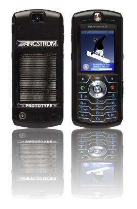 A hydrogen powered Motorola mobile phone prototype revealed
