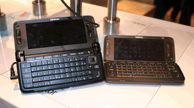 The new E90 next to the standard - An improved Nokia E90 noticed at MWC