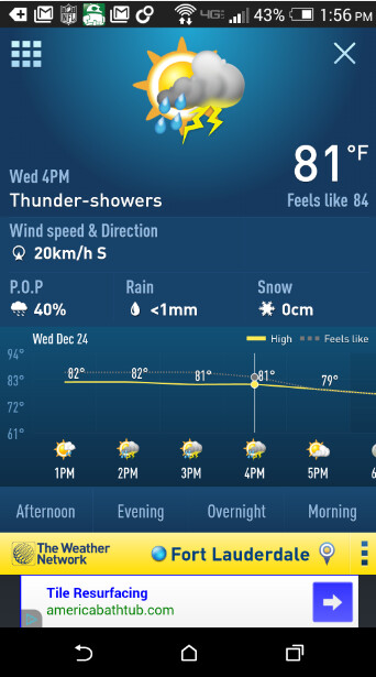 android weather network