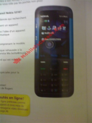 Nokia 5310 soon to be offered with Rogers