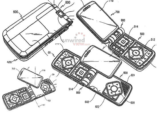 Samsung patents idea for gaming phone