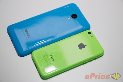 Meizu M1 Note vs. Apple's iPhone 5c