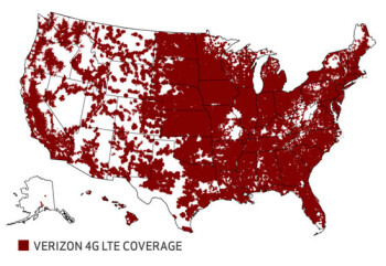 Verizon Coverage Map Los Angeles Indiana Map