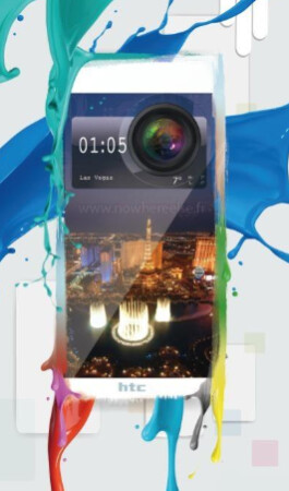 Photo allegedly shows a render of the HTC Hima (M9) - HTC Hima (M9) render leaks; new flagship to be unwrapped at CES?