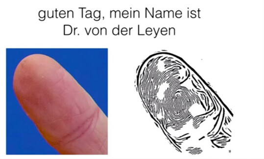 A fingerprint belonging to German Defense Minister Ursula von der Leyen is copied by the Chaos Computer Club - Group that hacked Touch ID last year, is back with an easier way to fool your fingerprint scanner