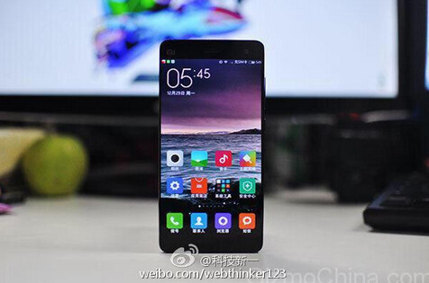 Black version of the Xiaomi Mi5
