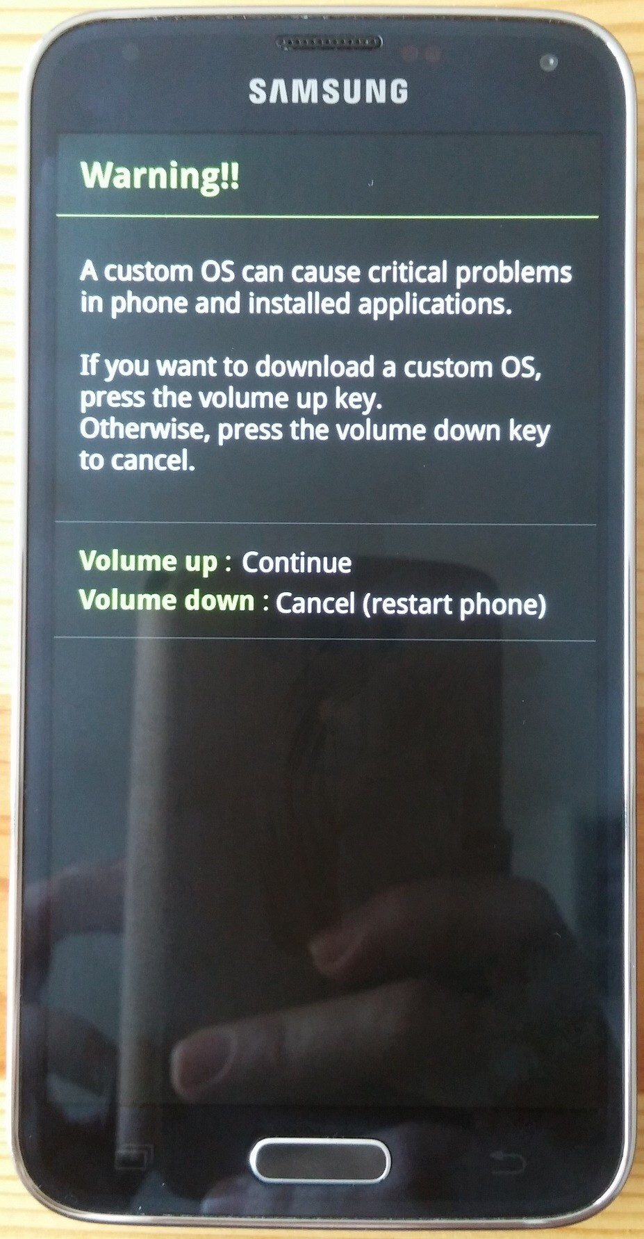 How to update your European Samsung Galaxy S5 (SM-G900F) to the