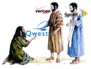 QWEST in a partnership with Verizon?