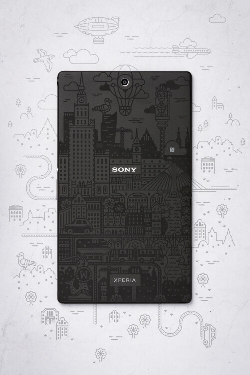Xperia Z3 Tablet Compact Warsaw