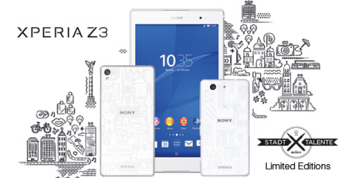 Sony's Limited Edition Xperia Z3s