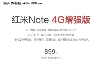 The new Redmi Note 2 might come with a lower price tag