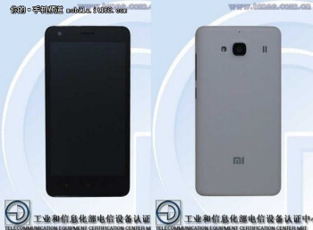 Leaked images of the Xiaomi Redmi Note 2