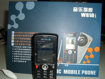 Fake - Sony Ericsson W810