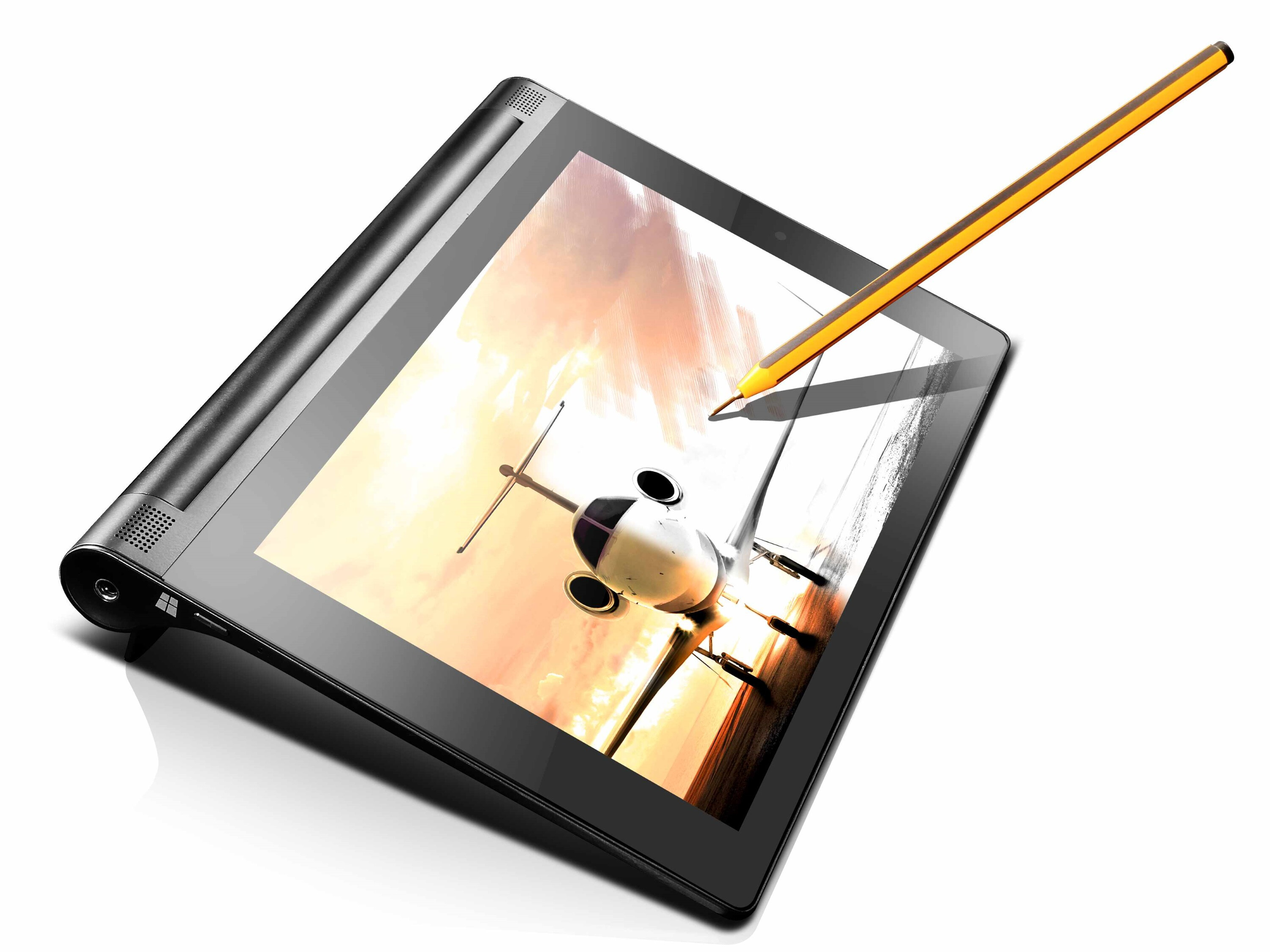 The lenovo yoga tablet 2 8 windows with anypen has a unique superpower