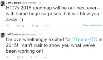 "HTC's 2015 roadmap to be the best ever, ""huge surprises"" coming, says exec"
