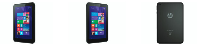 The HP Pro Tablet 408 G1 is coming - HP lists a new 8-inch Windows 8.1 tablet on its website