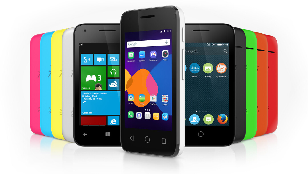 Alcatel OneTouch announces its OS-agnostic smartphone line ...