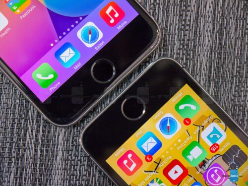 iPhone 6, iPhone 6 Plus vs iPhone 5s
