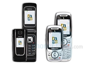 Nokia 6555 and Samsung SGH-E747 - Nokia 6555 and Samsung SGH-E747 now offered with Fido in Canada