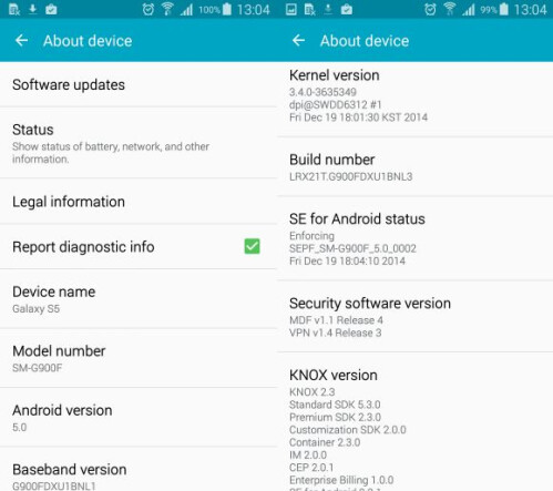 Samsung Galaxy S5 receives Android 5.0 in Malaysia