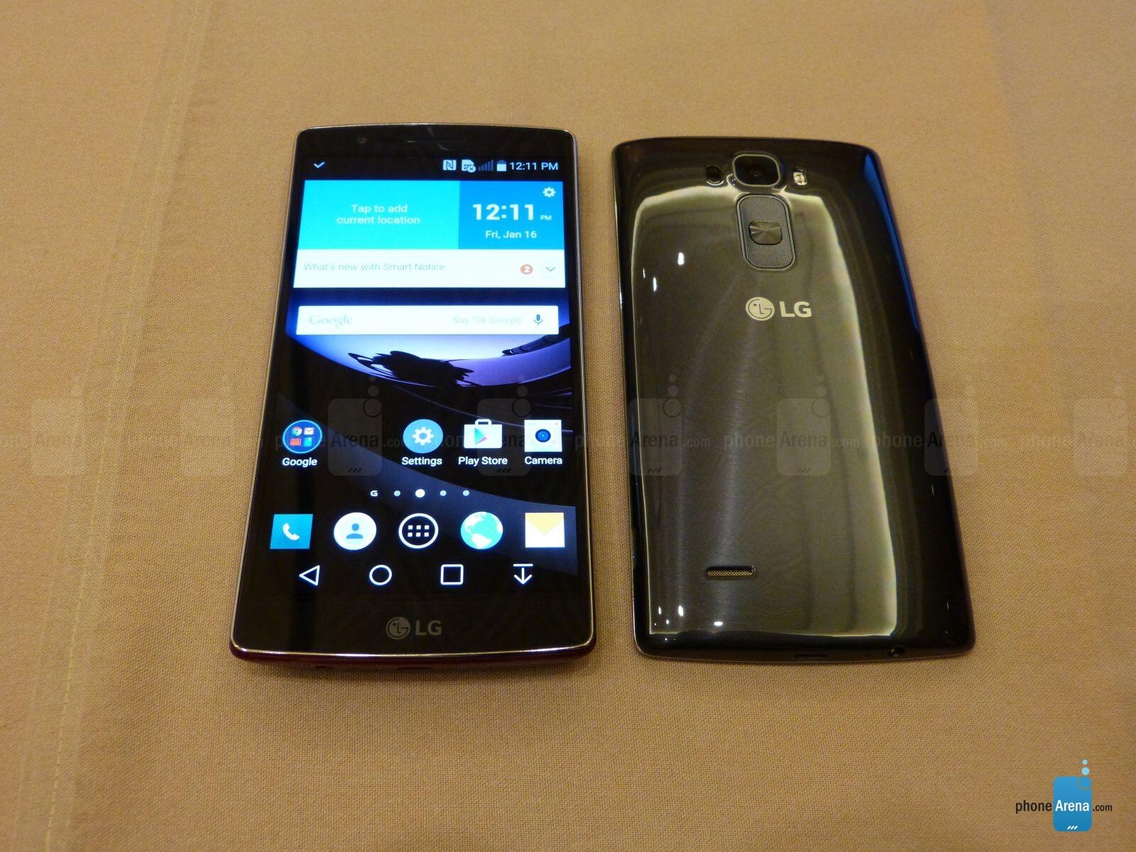 LG G Flex 2 Hands On
