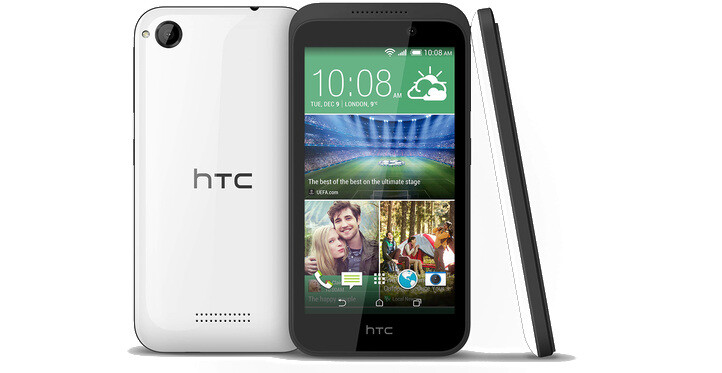 HTC's first device for 2015 breaks cover: meet the entry-level HTC Desire 320