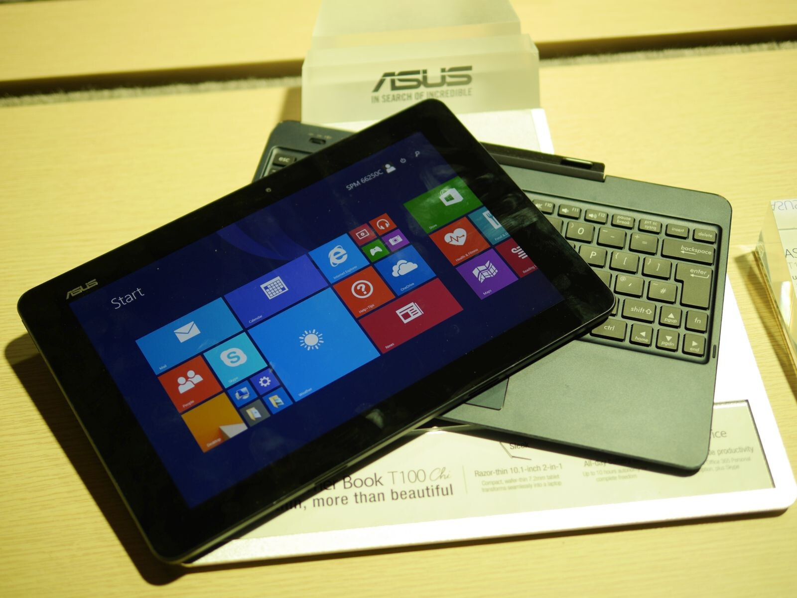 [Hands on] Asus Transformer Book T100 Chi - 60237