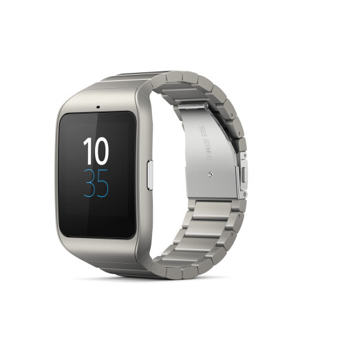 Stainless steel Sony SmartWatch 3