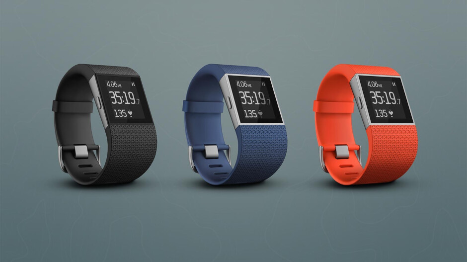 Fitbit Surge - Fitbit announces new Fitbit Charge HR and Fitbit Surge activity trackers for sports enthusiasts