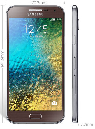 The Samsung Galaxy E5 and Galaxy E7 officially unveiled: more affordable alternatives to Galaxy A5 and A7