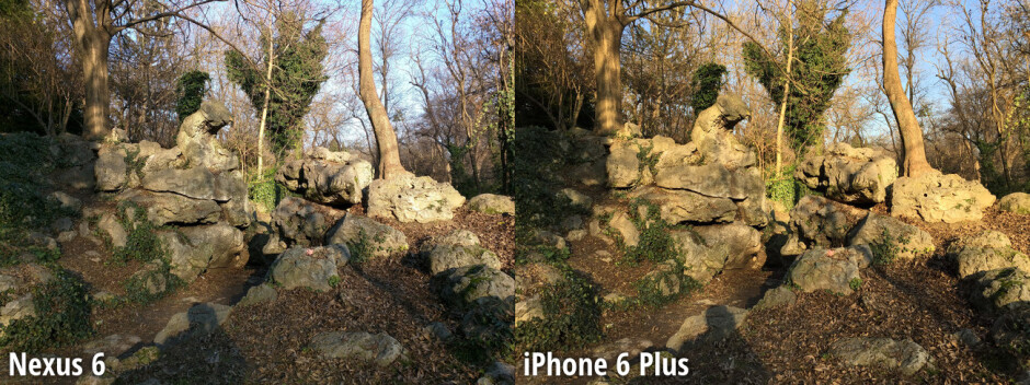 Side-by-side preview - Nexus 6 beats the iPhone 6 Plus by a mile in our blind camera comparison