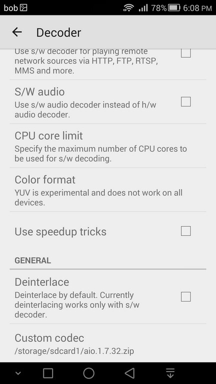 How to restore full audio codec support (AC3, DTS) in MX Player, Android's best video playback app