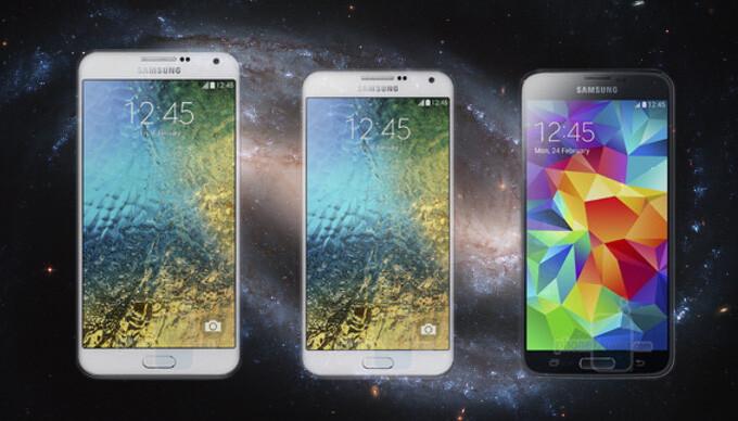 Samsung Galaxy E7 vs Galaxy E5 vs Galaxy S5: intergalactic specs comparison