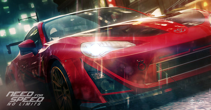 New teaser trailer for Need for Speed: No Limits shows us dazzling and intense gameplay