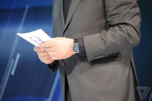 Mysterious LG smartwatch spotted at CES 2015