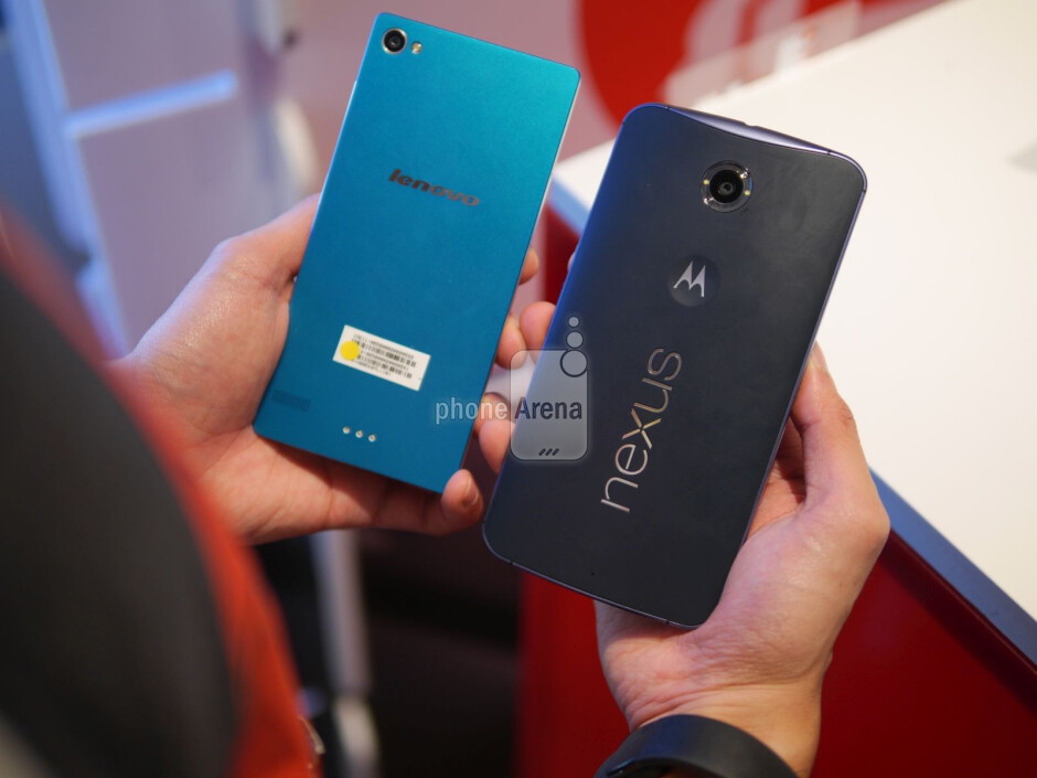 Lenovo Vibe X2 Pro vs Nexus 6