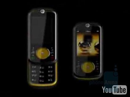 black + yellow - Is that Motorola's 2008 line?