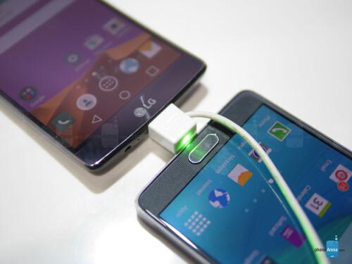 LG G Flex 2 vs Samsung Galaxy Note 4