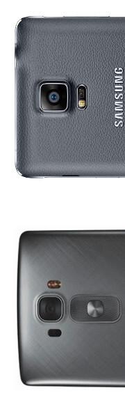 LG G Flex 2 vs Samsung Galaxy Note 4: First look