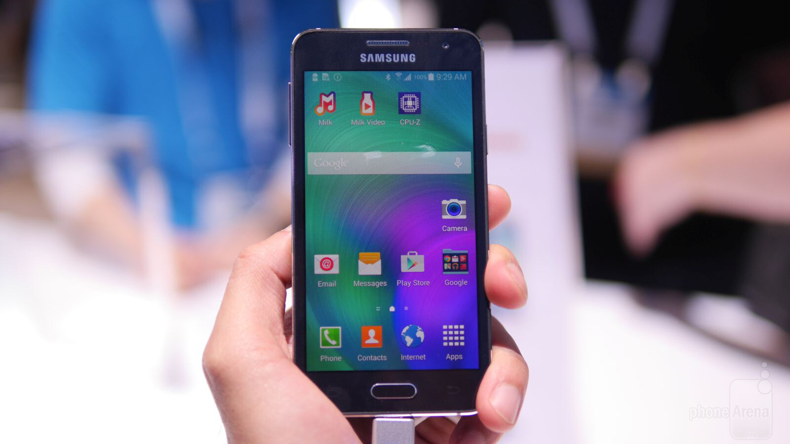 samsung galaxy a3 hands on phonearena reviews. Black Bedroom Furniture Sets. Home Design Ideas