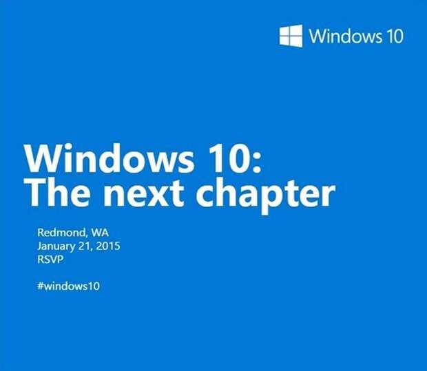 Microsoft to detail Windows Phone 10 on January 21st, the revolution will be televised